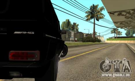 Mercedes G55 Kompressor für GTA San Andreas Innenansicht