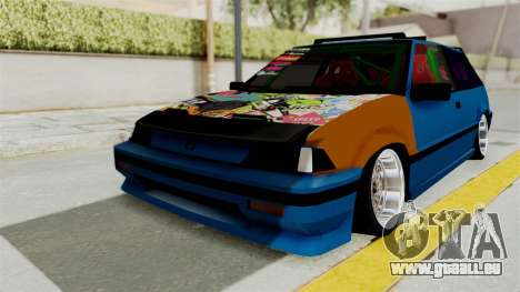 Honda Civic EF9 HellaFlush für GTA San Andreas