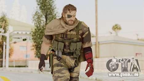 MGSV The Phantom Pain Venom Snake Scarf v2 für GTA San Andreas