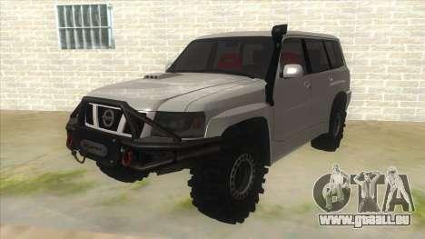 Nissan Patrol Y61 für GTA San Andreas