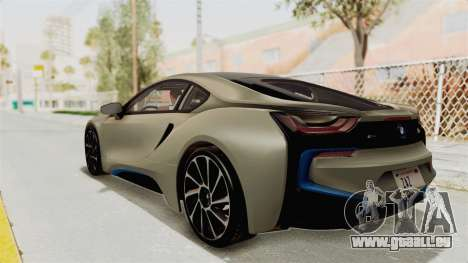 BMW i8-VS 2015 für GTA San Andreas linke Ansicht