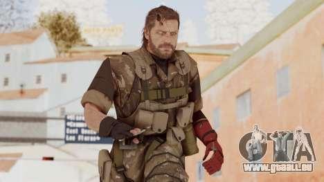 MGSV The Phantom Pain Venom Snake No Eyepatch v9 für GTA San Andreas