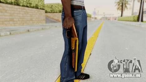 Sawnoff Gold pour GTA San Andreas troisième écran