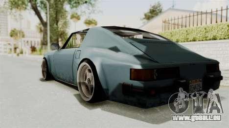 Comet 911 GermanStyle pour GTA San Andreas laissé vue