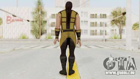 Mortal Kombat X Klassic Scorpion für GTA San Andreas dritten Screenshot
