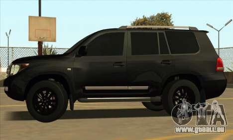 Toyota Land-Cruiser 200 pour GTA San Andreas vue arrière