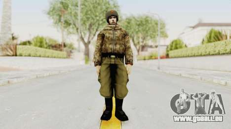 Russian Solider 3 from Freedom Fighters pour GTA San Andreas deuxième écran