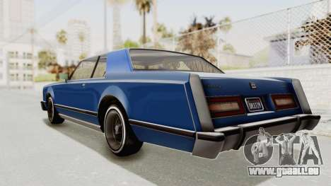 GTA 5 Dundreary Virgo Classic Custom v1 IVF für GTA San Andreas linke Ansicht