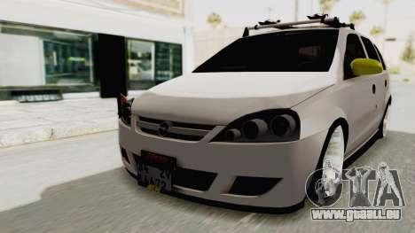 Opel Corsa pour GTA San Andreas