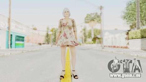 Dead Or Alive 5 LR - Christie Casual New Hair pour GTA San Andreas deuxième écran