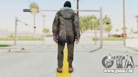 Bourne Conspirancy Homeless pour GTA San Andreas troisième écran