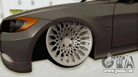 BMW 330i E92 Camber pour GTA San Andreas vue arrière