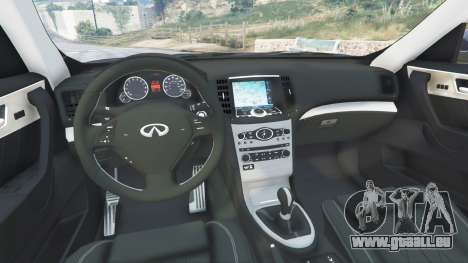 GTA 5 Infiniti FX S50 droite vue latérale