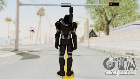 Captain America Civil War - War Machine für GTA San Andreas dritten Screenshot