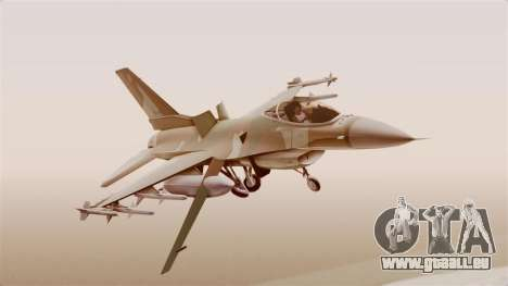 F-16A General Dynamics Chadian Air Force für GTA San Andreas