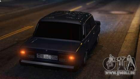 GTA 5 Bewaffnet Zu Predigen, Um Die Auto-2107 rechte Seitenansicht