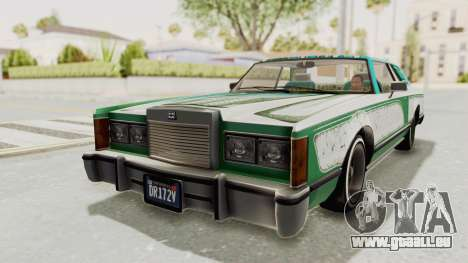 GTA 5 Dundreary Virgo Classic Custom v3 pour GTA San Andreas