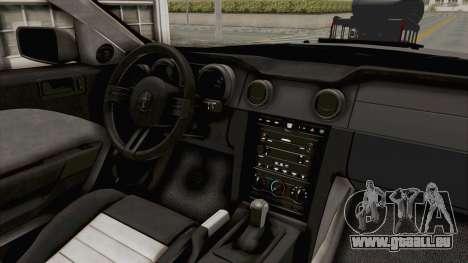 Ford Mustang 2005 Monster Truck für GTA San Andreas Seitenansicht