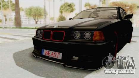 BMW M3 E36 Beast für GTA San Andreas