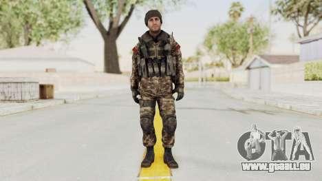 CoD MW3 Russian Military SMG v2 pour GTA San Andreas deuxième écran