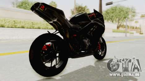 Kawasaki Ninja 300 FI Modification pour GTA San Andreas laissé vue