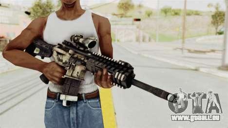 P416 für GTA San Andreas dritten Screenshot