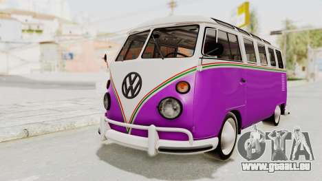 Volkswagen T1 Station Wagon De Luxe Type2 1963 pour GTA San Andreas