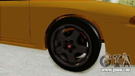Nissan Skyline R32 4 Door Taxi pour GTA San Andreas vue arrière