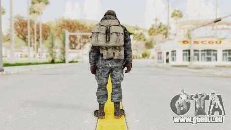 COD MW2 Ghost Ops pour GTA San Andreas troisième écran