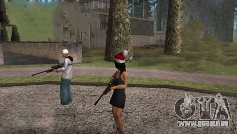 VIP Sniper Rifle für GTA San Andreas fünften Screenshot