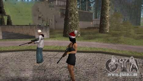 VIP Sniper Rifle für GTA San Andreas fünften Screenshot
