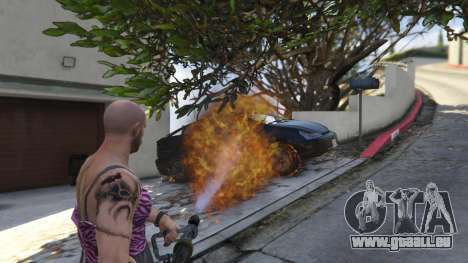 Real Flamethrower 1.5 pour GTA 5