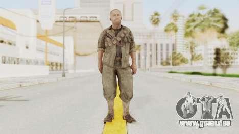 COD BO Dempsey pour GTA San Andreas deuxième écran