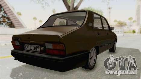 Dacia 1310 Berlina 2001 Stock pour GTA San Andreas sur la vue arrière gauche