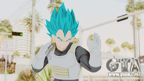 Dragon Ball Xenoverse Vegeta SSGSS pour GTA San Andreas