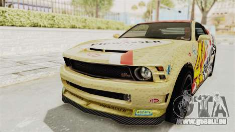 GTA 5 Vapid Dominator v2 SA Style pour GTA San Andreas salon