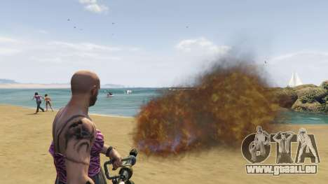 GTA 5 Real Flamethrower 1.5 septième capture d'écran