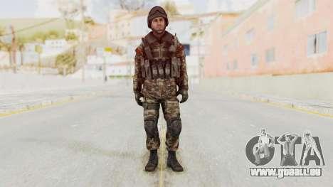 CoD MW3 Russian Military SMG v1 für GTA San Andreas zweiten Screenshot