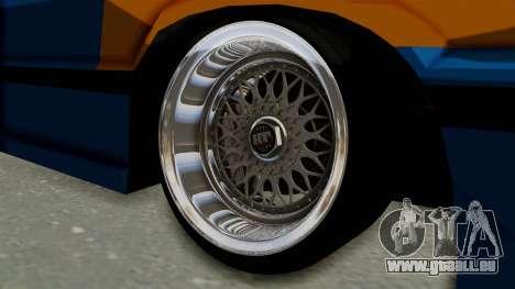 Honda Civic EF9 HellaFlush pour GTA San Andreas vue arrière