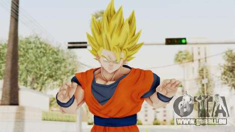 Dragon Ball Xenoverse Goku SSJ2 pour GTA San Andreas