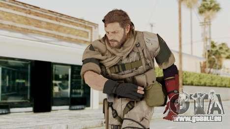 MGSV The Phantom Pain Venom Snake Sc No Patch v3 für GTA San Andreas