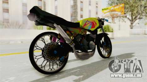 Yamaha RX King 200 CC Killing Ninja für GTA San Andreas linke Ansicht