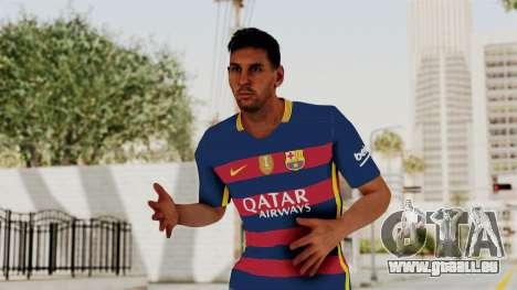 Skin Messi Temporada 2016 für GTA San Andreas