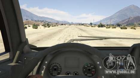 GTA 5 Iveco Stralis HI-WAY vue arrière