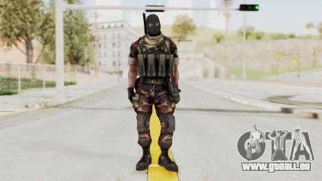Battery Online Russian Soldier 3 v2 für GTA San Andreas zweiten Screenshot