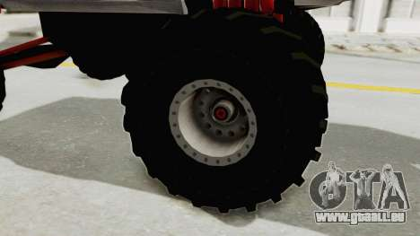 Ford Mustang 2005 Monster Truck pour GTA San Andreas vue arrière
