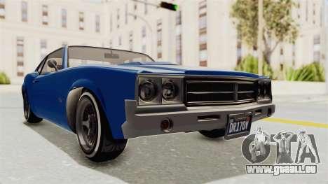 GTA 5 Declasse Sabre GT2 A für GTA San Andreas