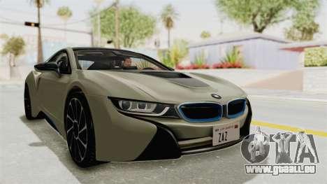 BMW i8-VS 2015 für GTA San Andreas rechten Ansicht