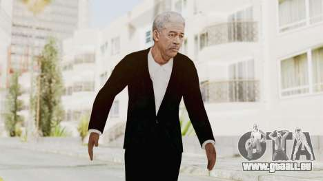 Batman Begins - Morgan Freeman pour GTA San Andreas
