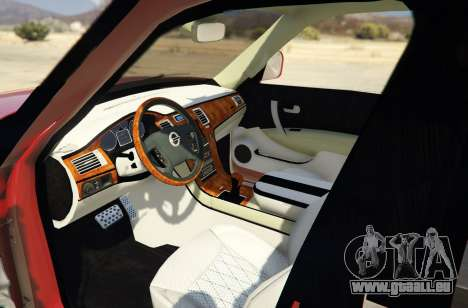 GTA 5 2014 Nissan Patrol Impul Rückansicht